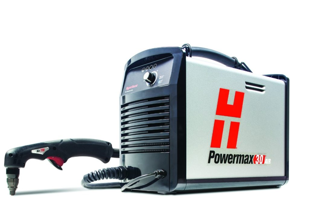 Powermax 30 AIR is the best plasma cutter with a built in compressor