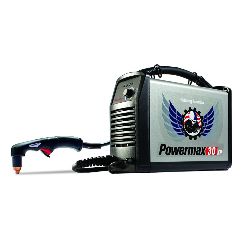 The Hypertherm Powermax30 is the best plasma cutter for under $1500